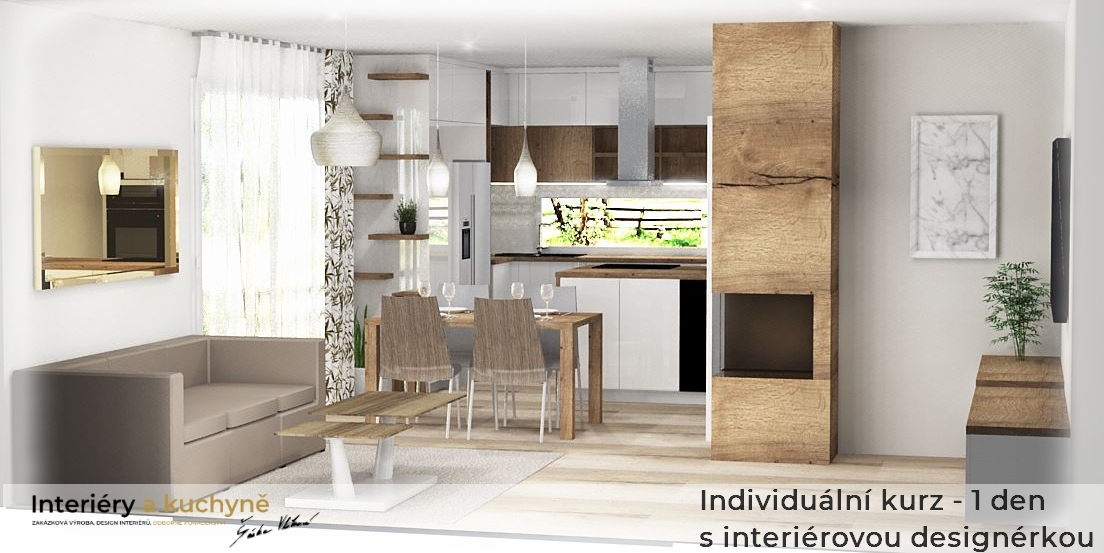 Individuální kurz - 1 den s interiérovou designérkou